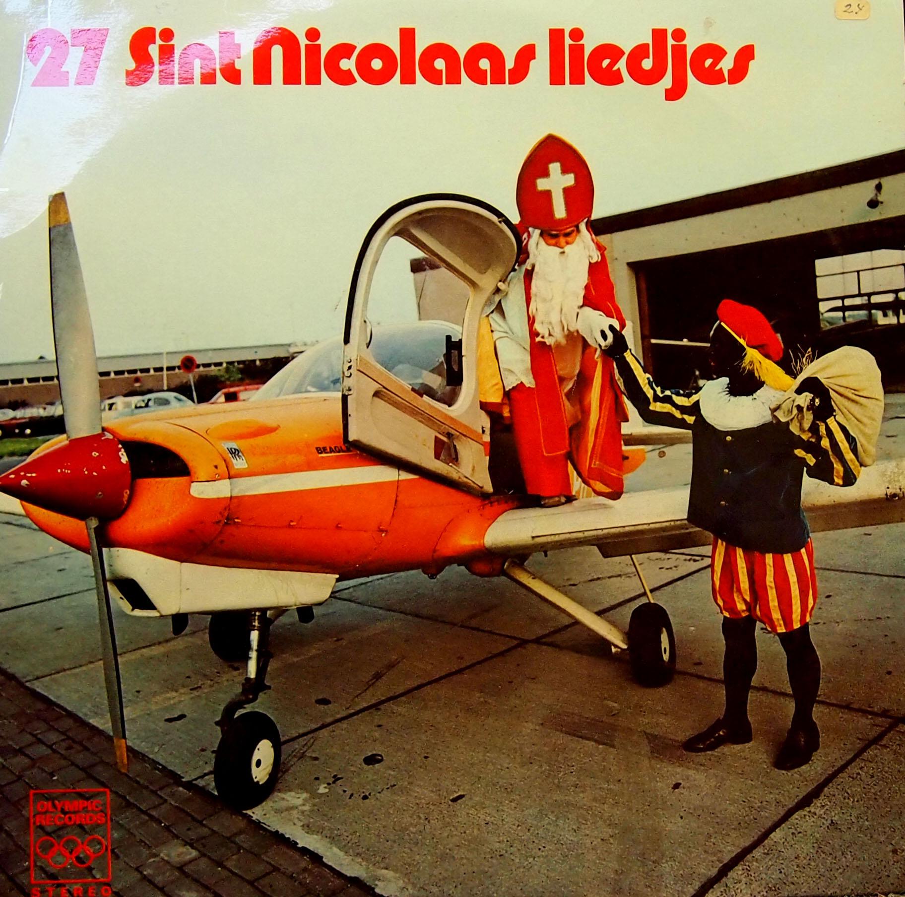 Sinterklaasje kom maar binnen met je vliegtuig?