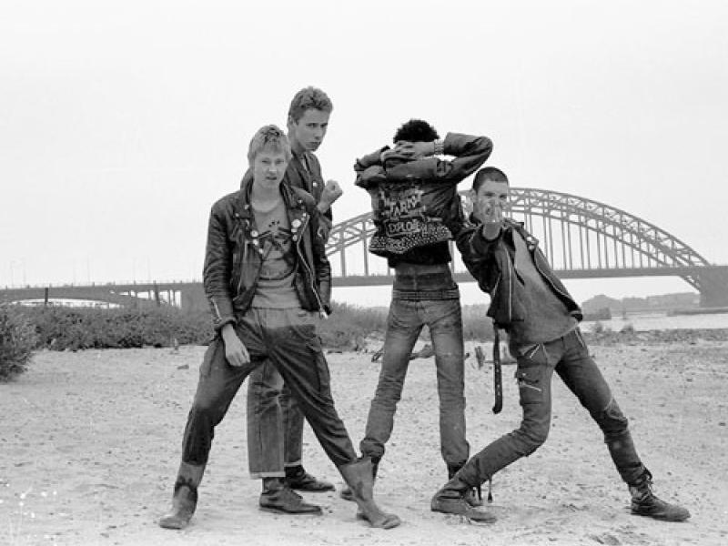 De tweede lichting Gelderse punkbands: The Squats